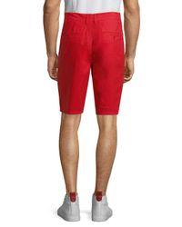 Life After Denim - Red Maldives 4-pocket Shorts for Men - Lyst