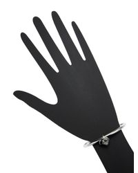 Marc Jacobs - Metallic Coin & Heart Charm Cuff Bracelet - Lyst