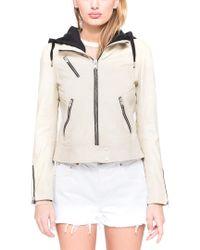 Marc New York - Multicolor Winona Washed Leather Jacket - Lyst