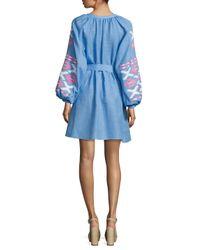 MARCH11 - Blue Istanbul Mini Dress - Lyst