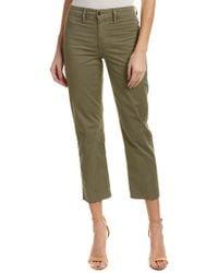 Joe's Jeans - Green Jane Olive High-rise Straight Crop - Lyst