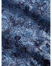 Nicole Miller - Blue Sequin Bodycon Dress - Lyst