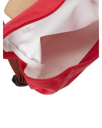 Longchamp - Red Le Pliage Backpack - Lyst