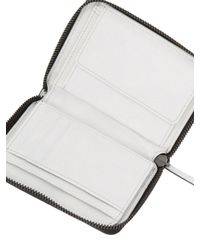 Liebeskind White Colorblock Coin Wallet