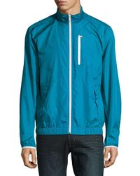 Victorinox - Blue Reflective Jacket for Men - Lyst