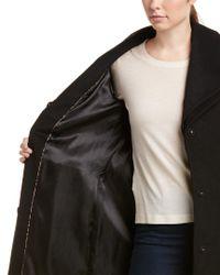 T Tahari - Black Alice Wool-blend Coat - Lyst
