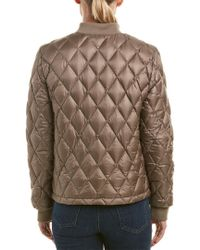 Cole Haan - Brown Quilted Jacket - Lyst