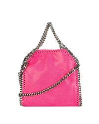 Stella McCartney - Pink Women's Fuchsia Faux Leather Shoulder Bag - Lyst