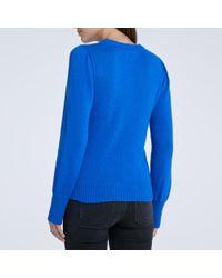goop Label - Blue Meredith Cobalt Sweater - Lyst