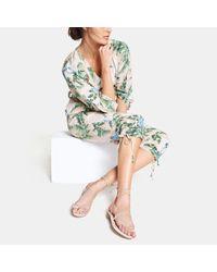 Stella McCartney - Pink Hawaiian Floral Jumpsuit - Lyst