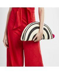 Sophie Anderson - Black Half Moon Clutch Handbag - Lyst