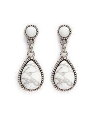 Philippe Audibert | Metallic Crees White Earrings | Lyst
