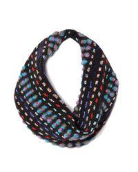 Mignonne Gavigan   Blue Kate Black Multi Scarf Necklace   Lyst