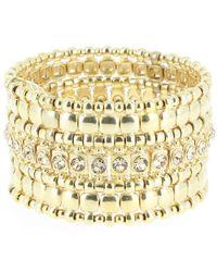 Philippe Audibert | Metallic Roselynette Square Gold Bracelet | Lyst