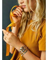 Gorjana & Griffin - Metallic Intention Bracelet Joy In The Journey - Lyst