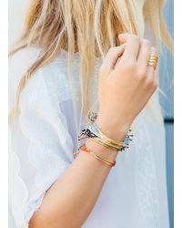 Gorjana & Griffin - Metallic Power Gemstone Orange Agate Bracelet For Confidence - Lyst