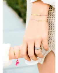 Gorjana & Griffin - Metallic Mini + Me Sparkle Bracelet Set - Lyst