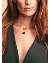Gorjana & Griffin | Multicolor Power Gemstone Labradorite Bead Adjustable Necklace For Balance | Lyst