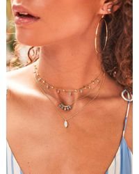 Gorjana & Griffin - Metallic Rumi Adjustable Necklace - Lyst