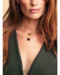 Gorjana & Griffin - Metallic Power Gemstone Lapis Bead Adjustable Necklace For Wisdom - Lyst