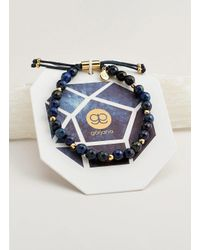 Gorjana & Griffin - Metallic Power Gemstone Lapis Beaded Bracelet For Wisdom - Lyst