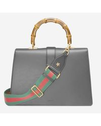 Gucci - Green Dionysus Leather Top Handle Bag - Lyst