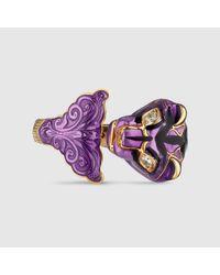 Gucci - Multicolor Le Marché Des Merveilles Ring - Lyst