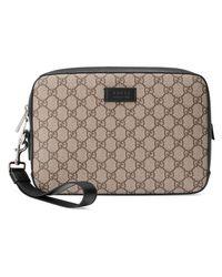 6cb36db9ff4 Lyst - Gucci Gg Supreme Men s Bag in Natural for Men