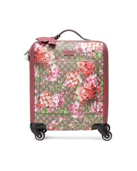 Gucci - Pink Gg Blooms Carry-on - Lyst