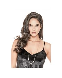 Guess - Metallic Jemma Silver-tone Adjustable Necklace - Lyst
