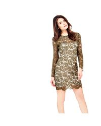 Guess | Green Lace Dress | Lyst
