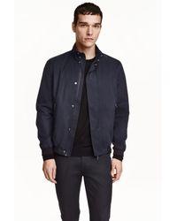 H&M   Blue Short Jacket for Men   Lyst