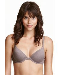 H&M | Pink 2-pack Padded Underwired Bras | Lyst