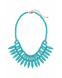 H&M | Blue Short Necklace | Lyst