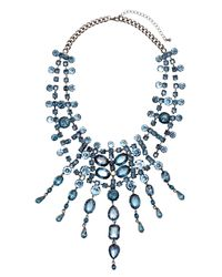 H&M | Blue Sparkly Necklace | Lyst
