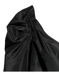 H&M - Black One-shoulder Dress - Lyst