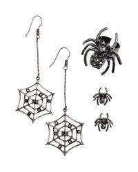 H&M   Black Jewellery Set   Lyst