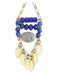 H&M - Blue Long Earrings - Lyst