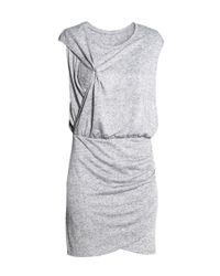 H&M - Gray Mama Nursing Dress - Lyst