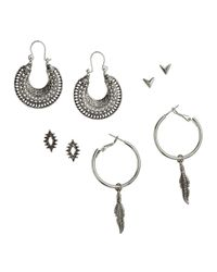 H&M | Metallic 4 Pairs Earrings | Lyst