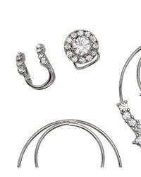 H&M | Metallic Earrings And Earcuffs | Lyst
