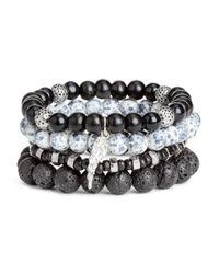 H&M - Black 4-pack Bracelets - Lyst