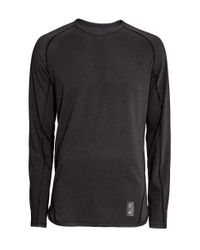 H&M | Black Sports Top for Men | Lyst