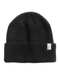 Lyst - H M Ribbed Hat in Black for Men f0a012225701