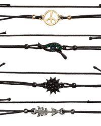H&M - Black 6-pack Bracelets - Lyst