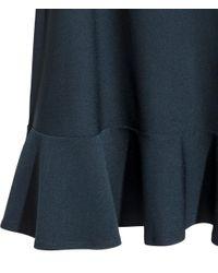 H&M - Blue Sleeveless Jersey Dress - Lyst