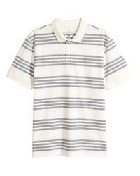 H&M - White Polo Shirt for Men - Lyst