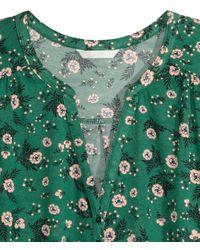 H&M - Black Long-sleeved T-shirt - Lyst