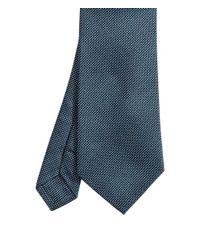 H&M - Blue Textured Silk Tie for Men - Lyst