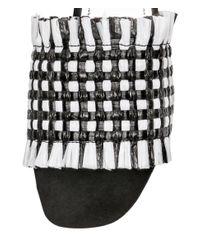 H&M - Black Plastic Mules - Lyst